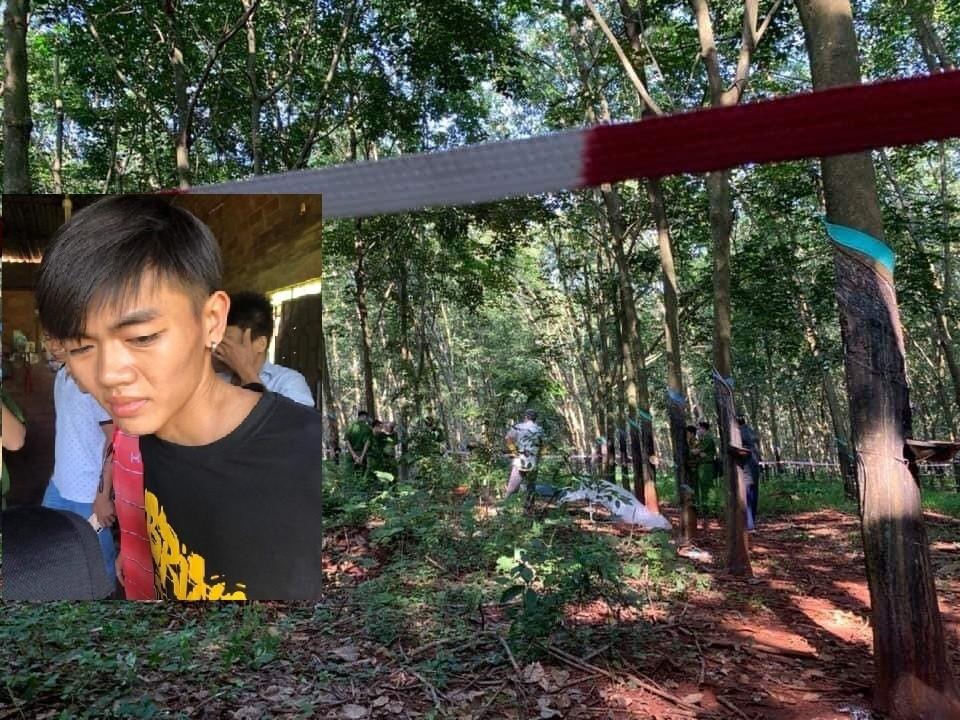 Bắt giữ hung thủ nghi sát hại, hiếp dâm thiếu nữ 16 tuổi ở rừng cao su-1