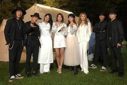 Lee Hyori mặc áo dài trắng trong lần hiếm hoi trở lại