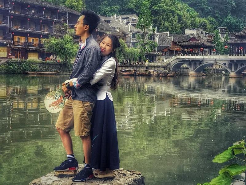 Ngưỡng mộ người chồng vì vợ mê cổ trang mà tình nguyện đưa vợ đi khắp Trung Quốc thực hiện bộ ảnh để đời-2