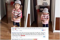 Khoe clip con trai siêu đáng yêu khi đến trường, hotmom Ly Kute bị soi ra điểm 'bất thường'