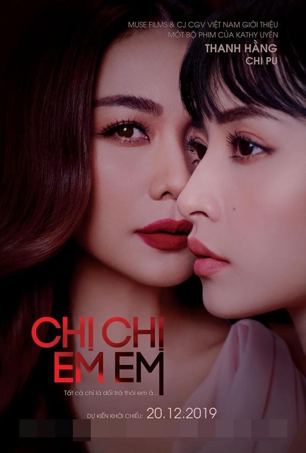 Hé lộ nụ hôn đồng tính của tiểu tam Chi Pu và chị đại Thanh Hằng-1