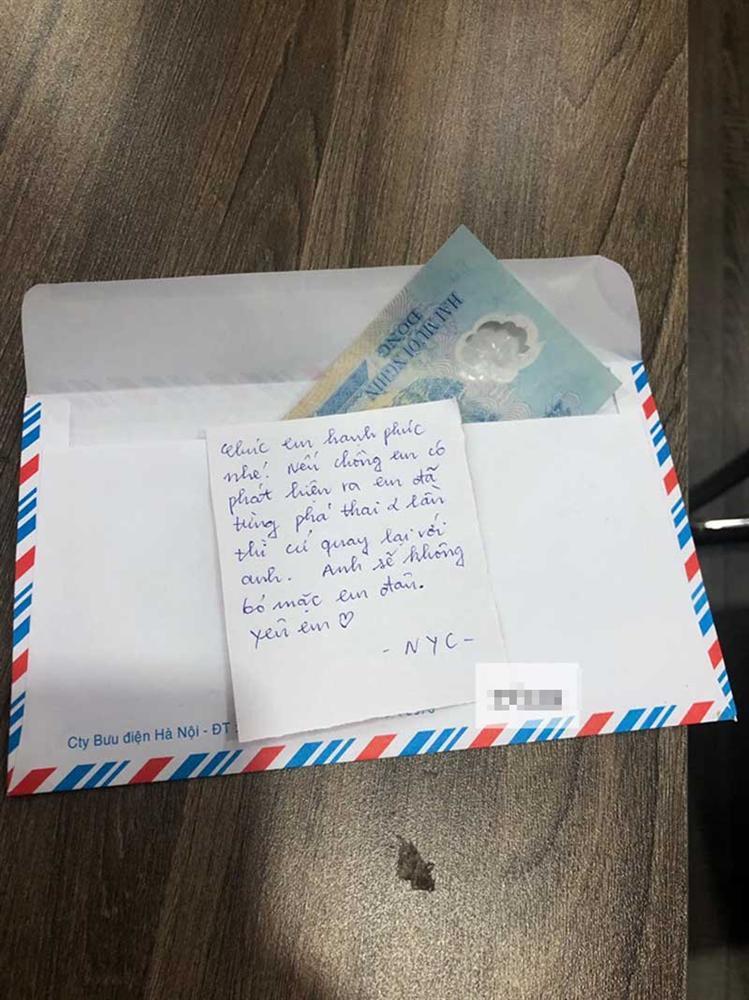 Người yêu cũ mừng cưới 20k kèm bức thư mật làm cô dâu bị đuổi ra khỏi nhà ngay đêm tân hôn-2