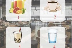 Bạn chọn cốc nước nào, cùng trắc nghiệm xem bạn được đánh giá ra sao trong mắt sếp?