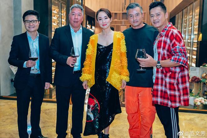 Tiểu Long Nữ Phạm Văn Phương diện váy 2 dây quyến rũ bên Triệu Vy-6