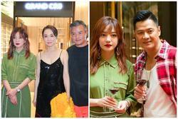 'Tiểu Long Nữ' Phạm Văn Phương diện váy 2 dây quyến rũ bên Triệu Vy