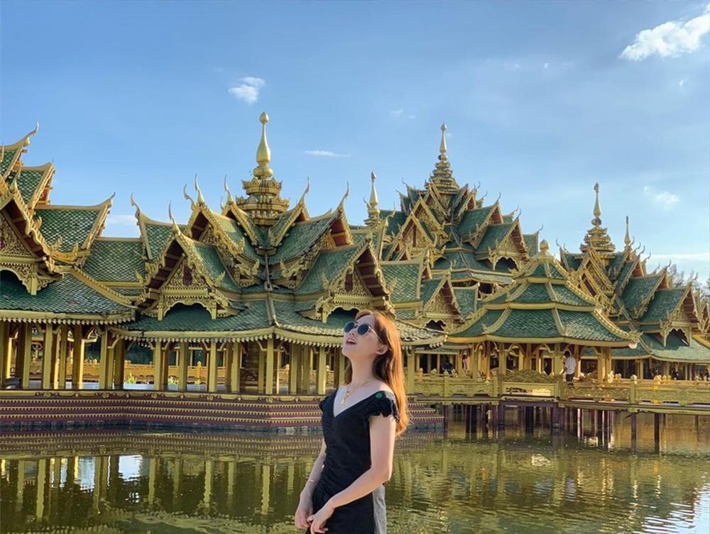 Thủy quái bao quanh ngôi đền trong thành cổ ở Thái Lan-1