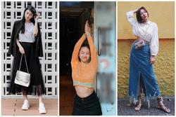 Thời tiết giao mùa muốn mặc đẹp và chất hãy học Văn Mai Hương, Jun Vũ