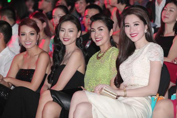 2 lần Tăng Thanh Hà chung khung hình với Đặng Thu Thảo là 2 lần trang phục lấn át cả hoa hậu-2