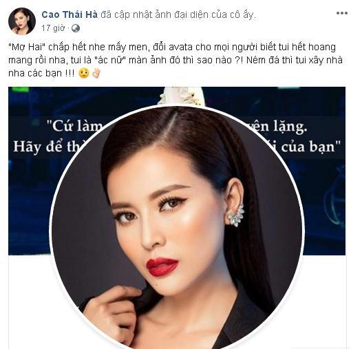 Sau cảnh cưỡng hiếp Hứa Minh Đạt, Cao Thái Hà thách thức anti-fan: Ném đá thì tôi xây nhà-4