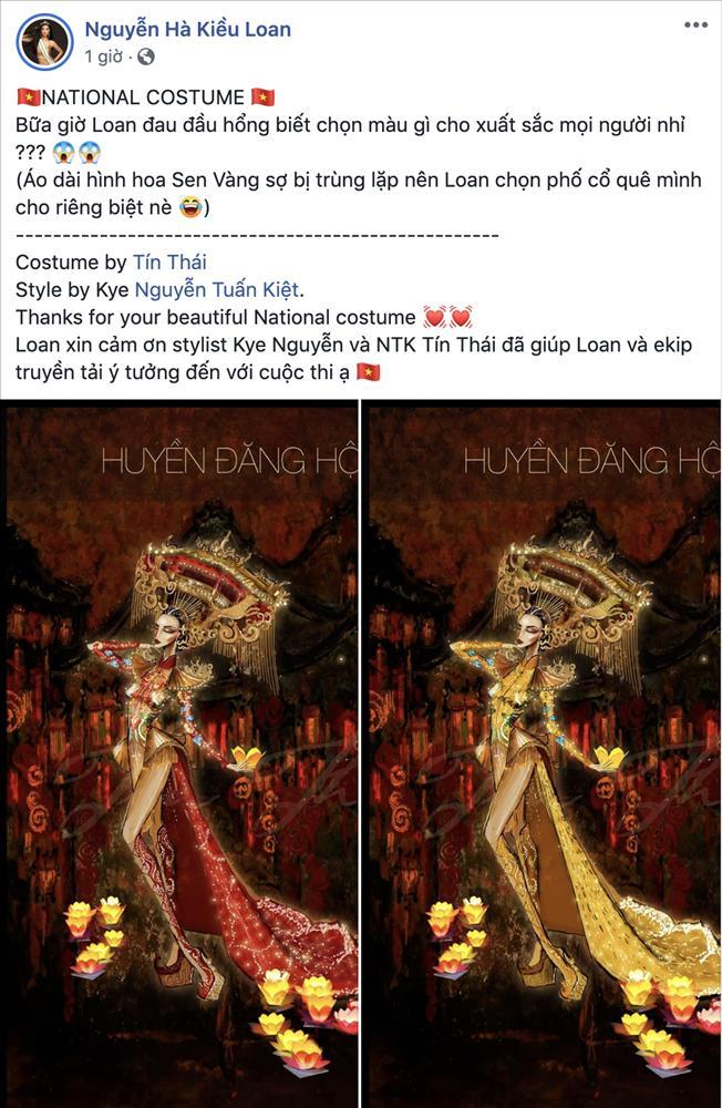 Trang phục dân tộc của Á hậu Kiều Loan tại Miss Grand International sẽ có 2000 bóng đèn led để mô phỏng Hội An-1
