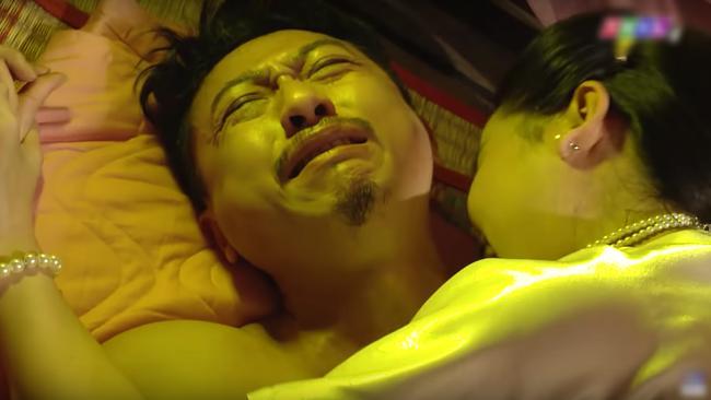 Lâm Vỹ Dạ thẳng tay tát Hứa Minh Đạt sau khi xem cảnh nóng của chồng và Cao Thái Hà-2