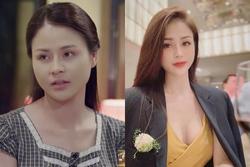 Tạo hình đối lập của nữ diễn viên được khen đẹp như hoa hậu
