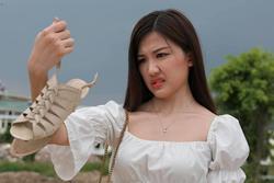 Trà tiểu tam ăn mặc gợi cảm thế nào trong 'Hoa hồng trên ngực trái'?