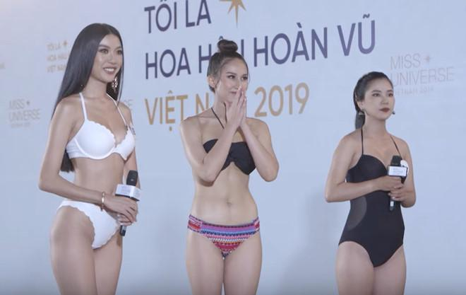 Thúy Vân, Hương Ly bật khóc khi bị chất vấn ở Hoa hậu Hoàn vũ-1