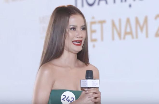 Thúy Vân, Hương Ly bật khóc khi bị chất vấn ở Hoa hậu Hoàn vũ-2