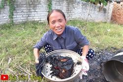 Bà Tân Vlog gây xôn xao khi làm món ăn bị cháy đen thui, nội dung thực hiện clip cũng bất ngờ thay đổi