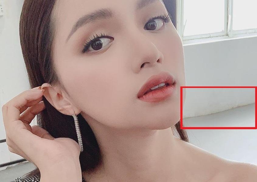 Tưởng mặt đẹp chuẩn không cần chỉnh, nào ngờ Hương Giang vẫn bị soi photoshop méo tường-8
