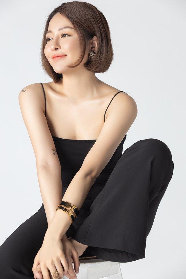 Hot girl Trâm Anh trở lại với phong cách sexy sau scandal tai tiếng-1