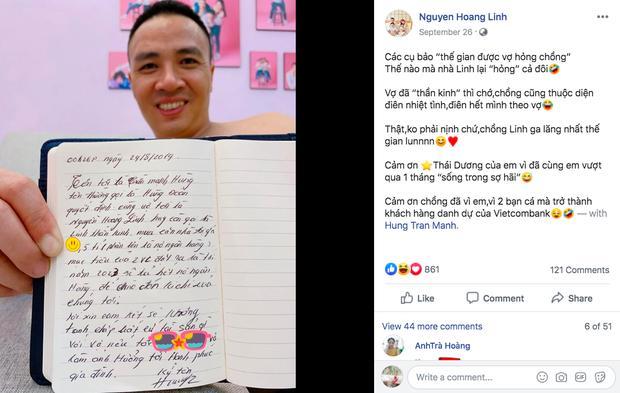 Xúng xính áo dài khoe ảnh tình cảm cùng ông xã, MC Hoàng Linh làm người nhìn gato cực mạnh-5