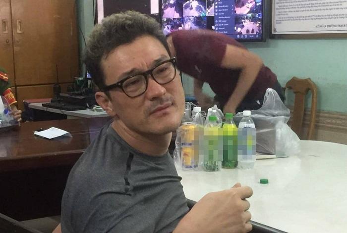 Trốn truy nã tội giết người, gã trai Hàn sang Việt Nam gây rối ở khách sạn-1
