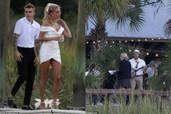 Justin Bieber và vợ xuất hiện, chuẩn bị làm lễ cưới