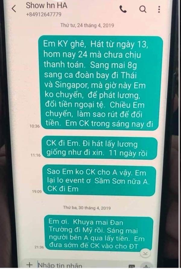 Bức xúc vì bị lừa đảo ăn quỵt, Đan Trường cảnh báo nghệ sĩ Việt cẩn thận trước chiêu trò của bầu sô dỏm-3