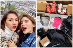 Bóc giá loạt đồ hiệu Kỳ Duyên và Minh Triệu vừa mua sắm ở châu Âu