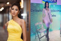 Bản tin Hoa hậu Hoàn vũ 30/9: Không ngờ Hoàng Thùy 'chặt' được đối thủ Philippines từ nhan sắc đến thời trang