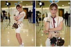 Thảm họa 'Thỏ Ngọc' bất ngờ vào vòng 2 Vietnam's Next Top Model sau màn catwalk có '1-0-2'