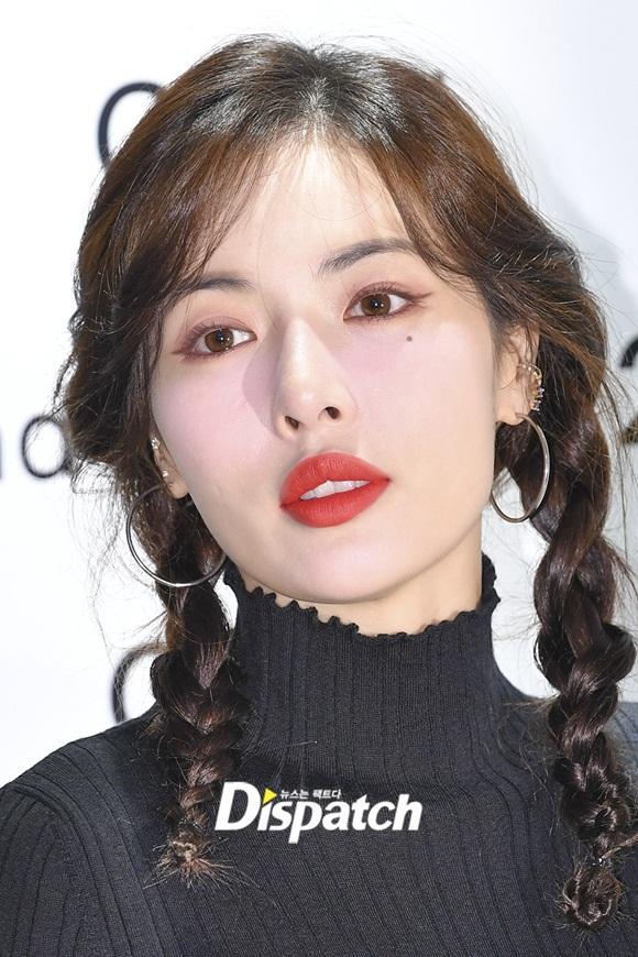 Sau màn vén váy khoe nội y gây tranh cãi, HyunA bất ngờ mặc kín như bưng, tết tóc dễ thương-3