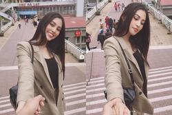 Khoe ảnh 'cùng anh đi khắp thế gian', Hoa hậu Việt Nam Trần Tiểu Vy đã có bạn trai?