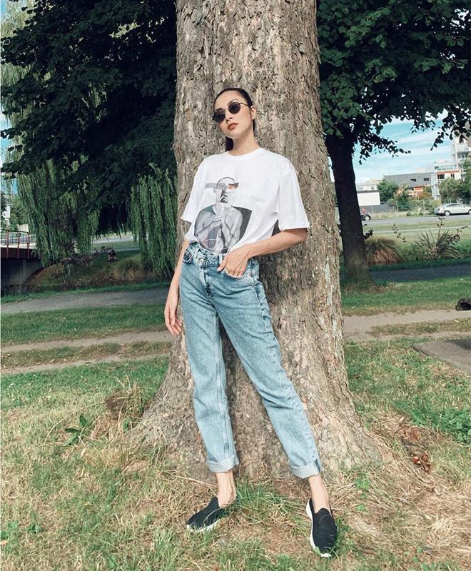Bí quyết phối đồ với quần jeans đẹp như Hà Tăng và dàn mỹ nhân Việt-1