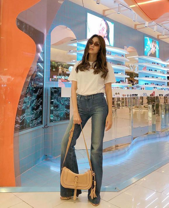 Bí quyết phối đồ với quần jeans đẹp như Hà Tăng và dàn mỹ nhân Việt-3