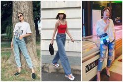 Bí quyết phối đồ với quần jeans đẹp như Hà Tăng và dàn mỹ nhân Việt