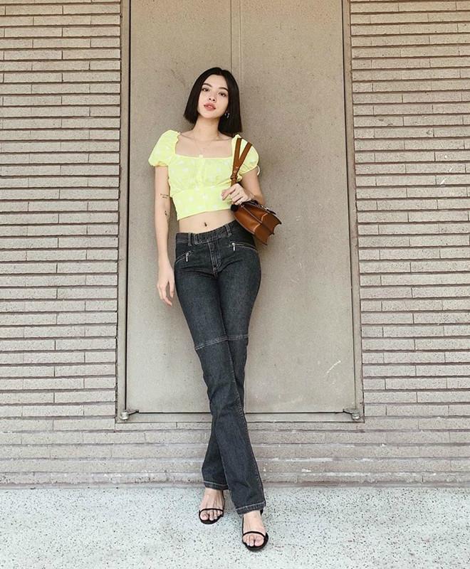 Bí quyết phối đồ với quần jeans đẹp như Hà Tăng và dàn mỹ nhân Việt-6