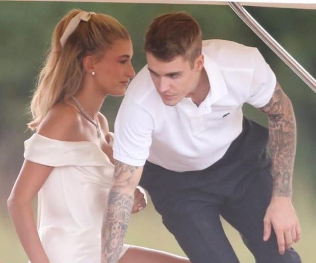 Justin Bieber lấy lại vẻ ngoài phong độ trong ngày cưới-4