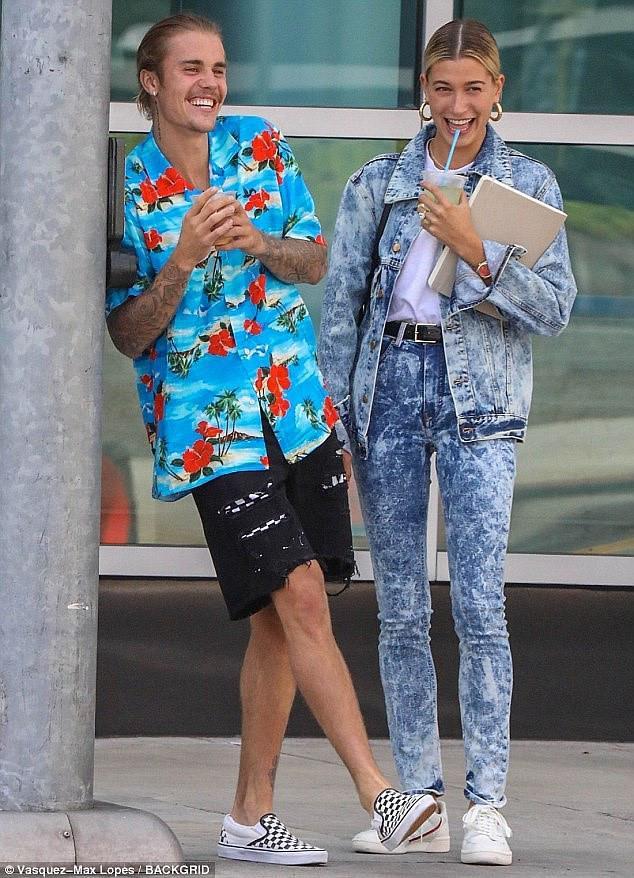 Justin Bieber lấy lại vẻ ngoài phong độ trong ngày cưới-8