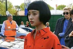 Mỹ nhân 'Vườn sao băng' bị chê quê mùa, thiếu khí chất tại Paris Fashion Week