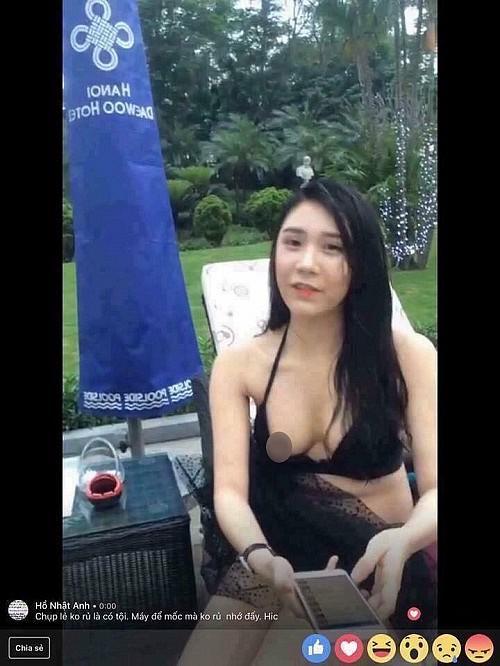 Ăn mặc hớ hênh khi livestream, hotgirl đình đám hết để lộ vòng một thả rông lại bị nghi hàng giả-7