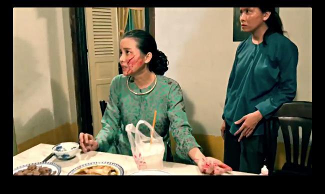 Cao Thái Hà bị rạch mặt, khán giả cả nước hả hê: Kẻ ác đã bị trừng phạt-3