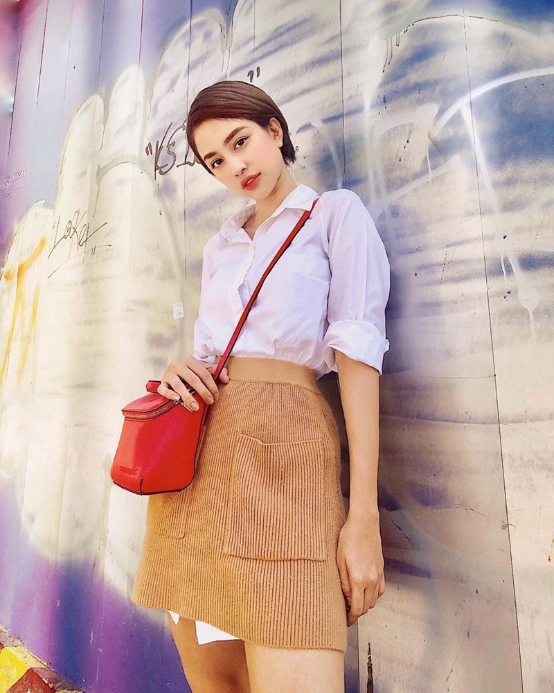 Diệu Nhi khoe street style ngày càng sành điệu ngỡ bản sao của Ngọc Trinh-8