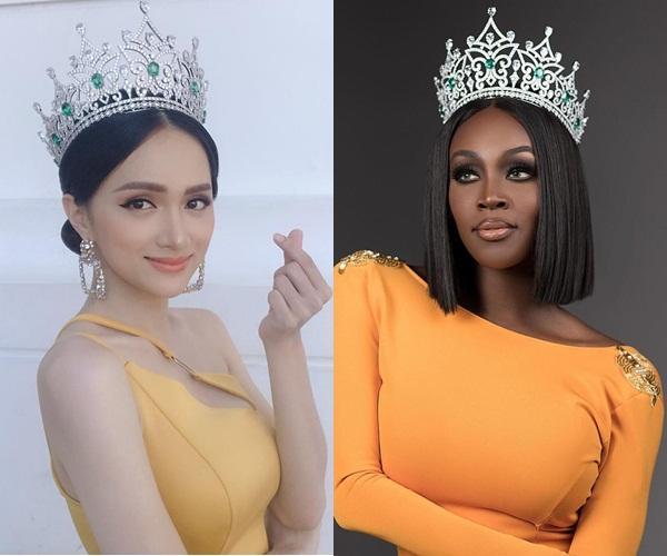 Hoa hậu Chuyển giới Quốc tế 2019 dằn mặt khán giả Việt dám tung hô nhan sắc Hương Giang dưới ảnh của mình-5