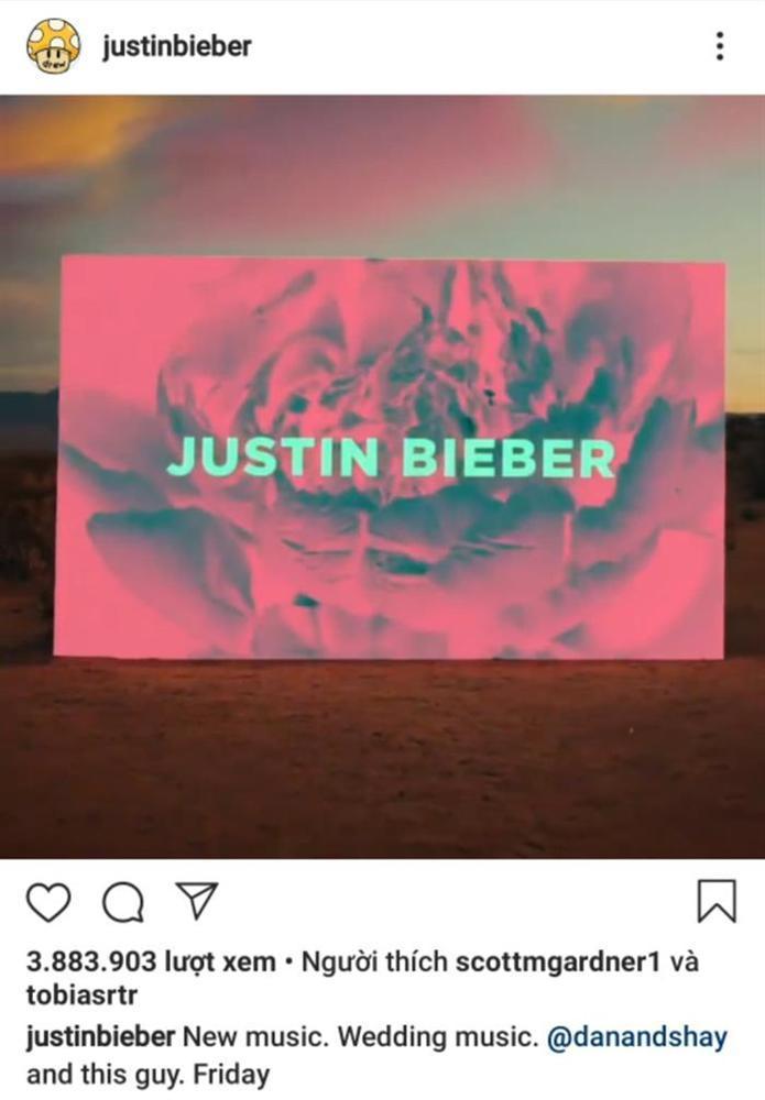 Vừa yên bề gia thất chưa lâu, Justin Bieber vội vàng tái xuất đường đua âm nhạc-1