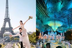 Nữ giảng viên nổi tiếng được bạn trai hotboy bê cả lâu đài 'siêu to khổng lồ' vào hôn lễ