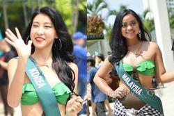 Dàn thí sinh Hoa hậu Trái đất 2019 lộ mặt xấu, ngực lép, eo bánh mì