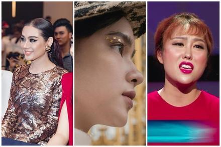 Halloween chưa đến mà Lâm Khánh Chi đã trang điểm dọa ma - Phi Thanh Vân make-up lòe loẹt