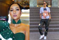 Bản tin Hoa hậu Hoàn vũ 3/10: Áo dài phá cách của H'Hen Niê nhường sóng cho áo phông đậm tình mẫu tử