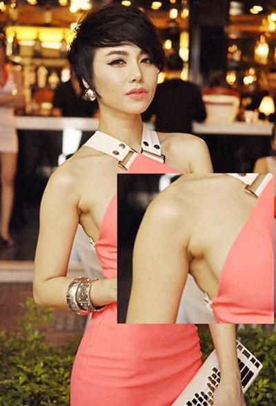 Đâu chỉ Dương Mịch, Jennie BlackPink... loạt sao Việt cũng thường xuyên mất điểm vì lằn mỡ nách-8