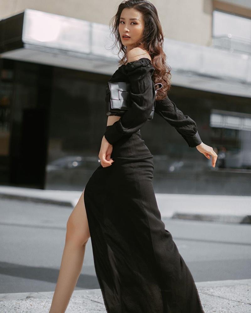 Hà Hồ phô diễn body không chút mỡ thừa - Hương Giang khoe street style đẳng cấp chẳng kém sao quốc tế-2