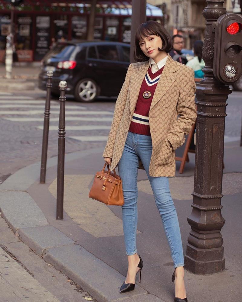Hà Hồ phô diễn body không chút mỡ thừa - Hương Giang khoe street style đẳng cấp chẳng kém sao quốc tế-6